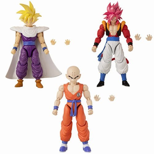 Dragon Ball Stars Action Figure Wave 14 Set