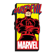 Daredevil with Logo Funky Chunky Magnet