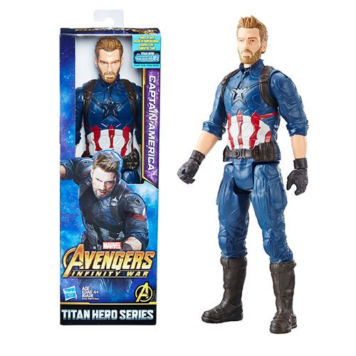 Avengers: Infinity War Titan Hero Series Captain America 12-Inch Action Figure