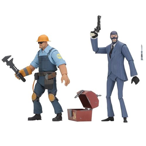 Team Fortress Series 3.5 BLU Assortment 7-Inch Figure Set
