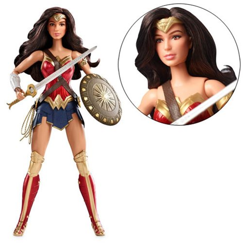 Justice League Movie Wonder Woman Barbie Doll