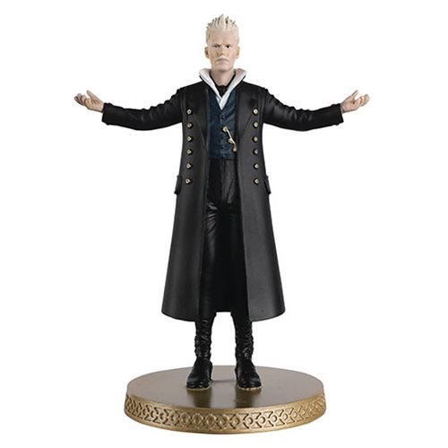Harry Potter Wizarding World Collection Grindelwald Figure with Collector Magazine