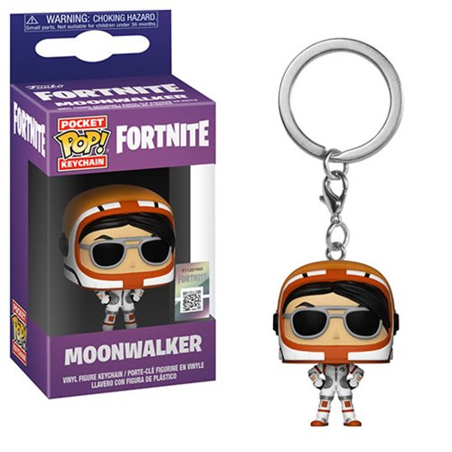 Fortnite Moonwalker Pocket Pop! Key Chain