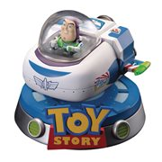 Toy Story Buzz Floating Spaceship Egg Attack Statue - PX