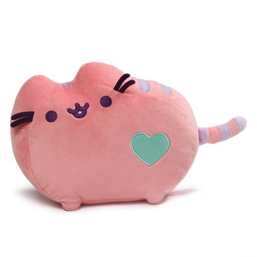 Pusheen the Cat Pink Pastel Heart Plush