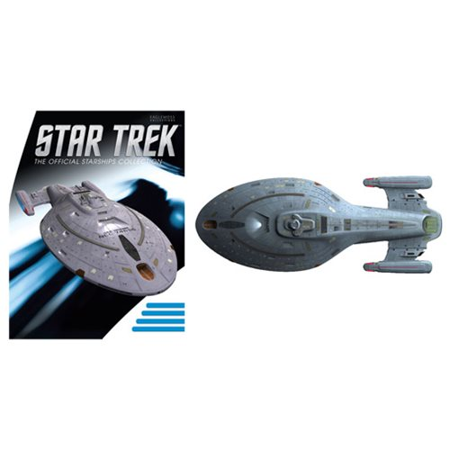 Star Trek Starships Special Large U.S.S. Voyager Vehicle with Magazine #19