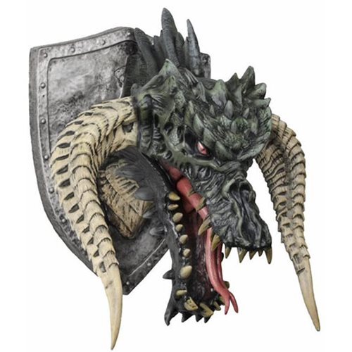 Dungeons and Dragons Black Dragon Trophy Plaque