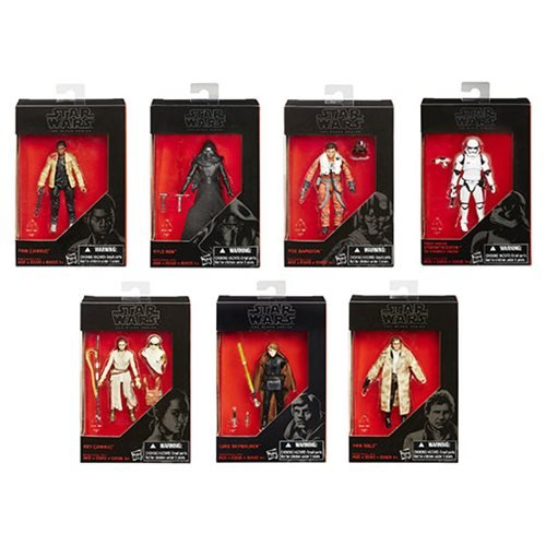 Star Wars The Black Series 3 3/4-Inch Action Figures Wave 2