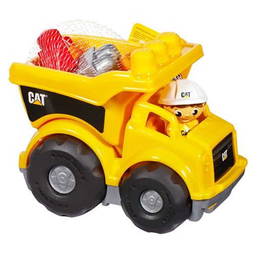 Mega Bloks First Builders CAT Lil' Dump Truck Vehicle