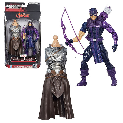 Marvel Legends Hawkeye Action Figure, Not Mint