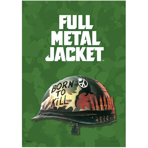Full Metal Jacket Born to Kill MightyPrint Wall Art Print
