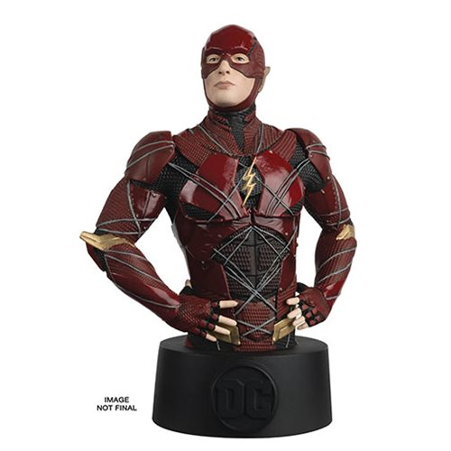 Justice League Movie Flash Bust with Collector Magazine #18