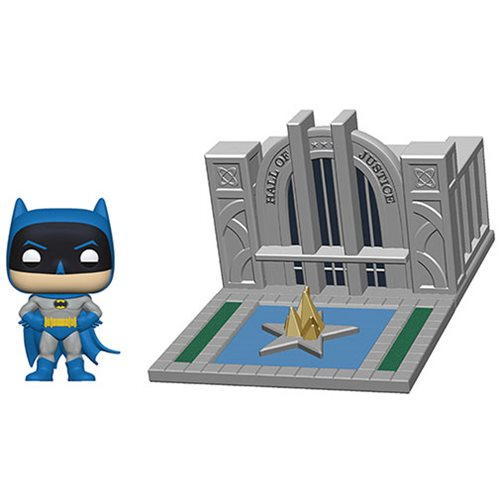 Batman Hall of Justice Pop! Town