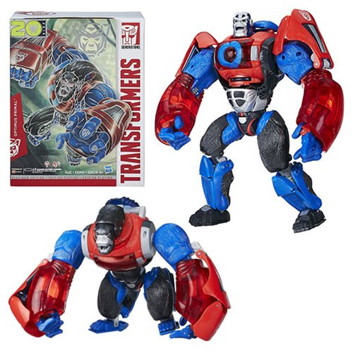 Transformers Platinum Edition Year Of The Monkey Optimus Primal, Not Mint