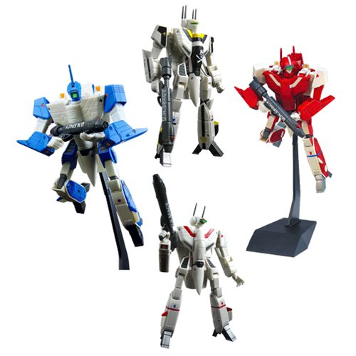 Robotech 30th Anniversary 1:100 Transformable Figure Set
