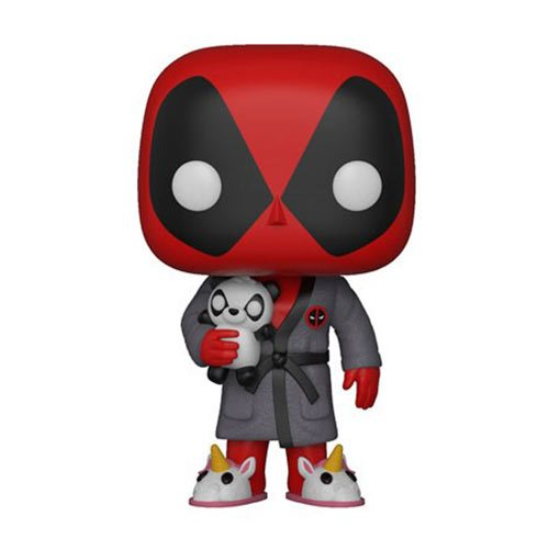 Deadpool Bedtime Deadpool in Robe Pop! Vinyl Figure #327