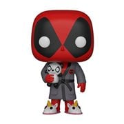Deadpool Bedtime Deadpool in Robe Pop! Vinyl Figure #327, Not Mint