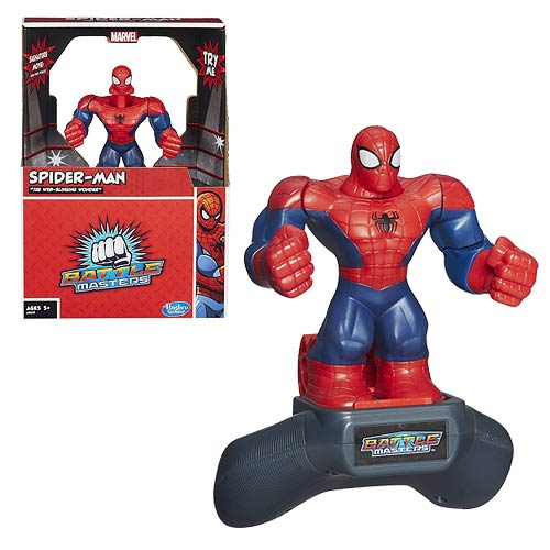 Battle Masters Spider-Man Fighting Figure