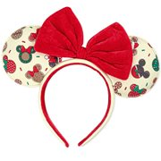 Mickey and Minnie Christmas Cookies Ears Headband