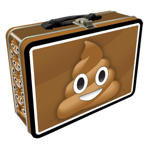 Emoticon Poop Regular Fun Box Tin Tote