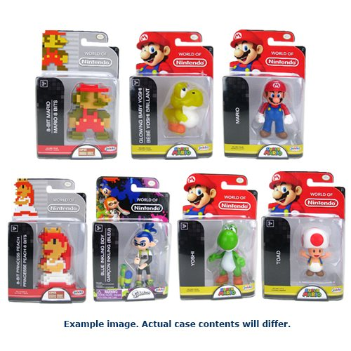 Nintendo 2 1/2-Inch Mini-Figure Wave 13 Case