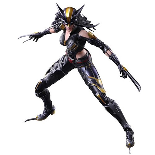 Marvel Universe X-23 Variant Play Arts Kai Action Figure