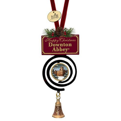 Downton Abbey Winter Bell 5-Inch Ornament