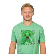 Minecraft Creeper Glyph Premium T-Shirt