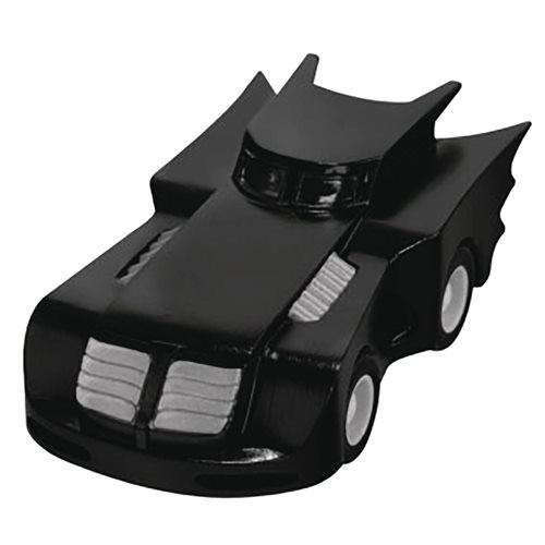 Batman: The Animated TV Series Batmobile 80th Anniversary Pull Back Vehicle