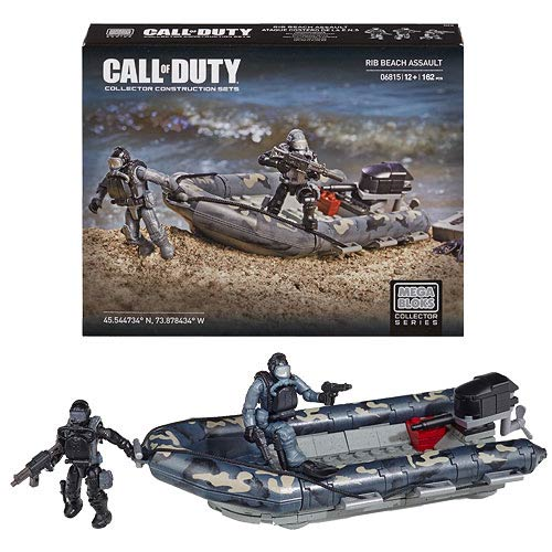 Mega Bloks Call of Duty RIB Beach Assault Playset