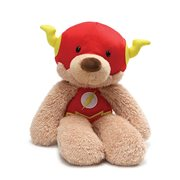 DC Comics Flash Fuzzy Bear 14-Inch Plush
