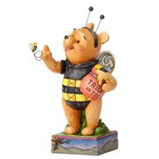 Disney Traditions Winnie the Pooh as Honey Bee Halloween Bumble Pooh Statue