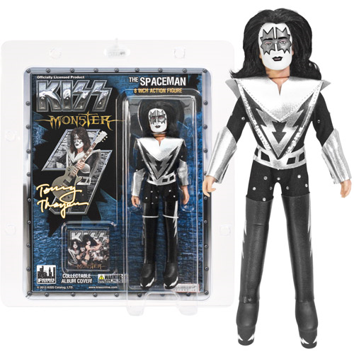 KISS Spaceman Series 4 Monster Album 8-Inch Action Figure