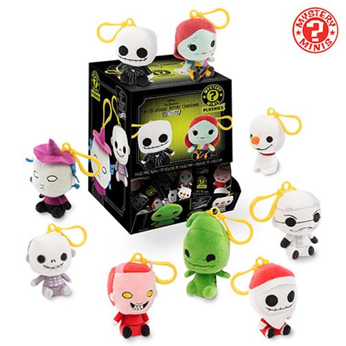 NBX Mystery Minis Plush Key Chain Random 6-Pack