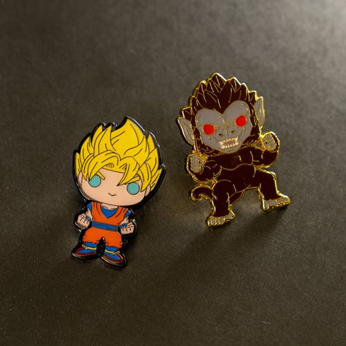Dragon Ball Z Super Saiyan Goku Pop! Enamel Pin 2020 Convention Exclusive