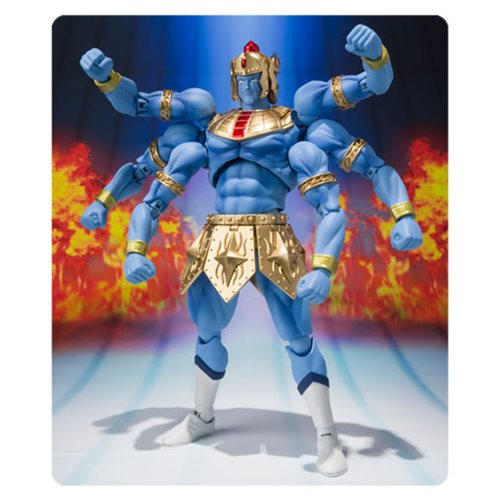 Kinnikuman Ashuraman Original Color Ed. SH Figuarts Action Figure