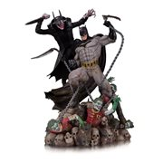 Batman Who Laughs vs. Batman Battle Statue