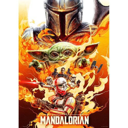 Star Wars: The Mandalorian Redemption by Chris Christodoulou Lithograph Art Print
