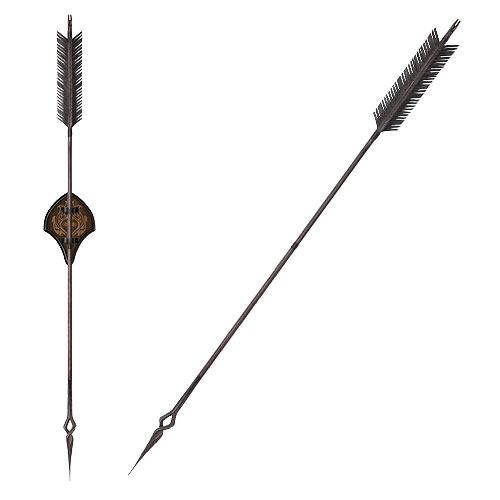 The Hobbit Black Arrow of Bard the Bowman Prop Replica
