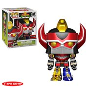 Mighty Morphin Power Rangers Metallic Megazord 6-Inch Super Pop! Vinyl Figure - AAA Anime Exclusive