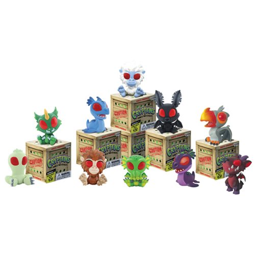 Cryptkins Mini-Figure Display Box