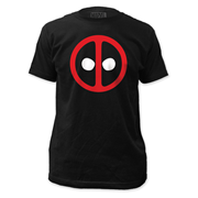 Deadpool Logo Black T-Shirt