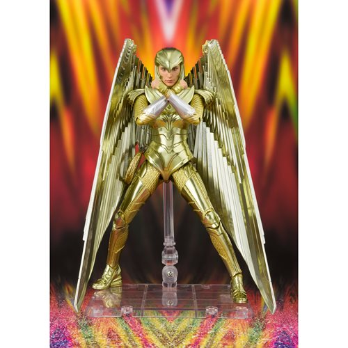 Wonder Woman 1984 Wonder Woman Golden Armor WW84 S.H.Figuarts Action Figure