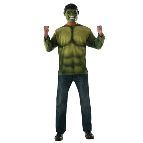 Avengers: Infinity War Hulk Costume Top with Mask