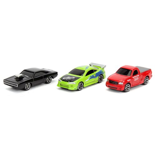 Fast and the Furious Nano Hollywood Rides Wave 3-A Vehicle 3-Pack