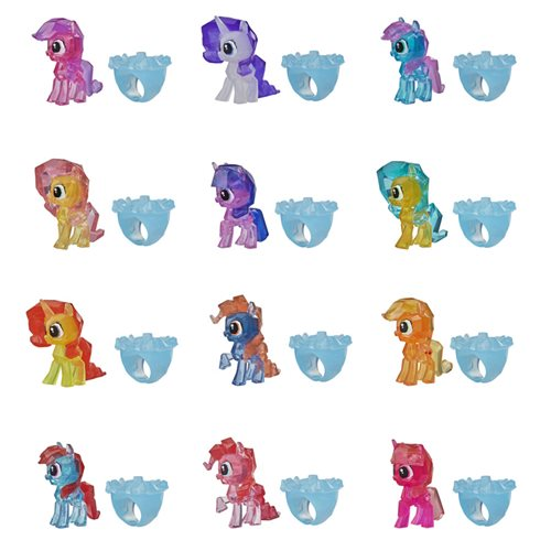 My Little Pony Secret Rings Mini-Figures 6-Pack