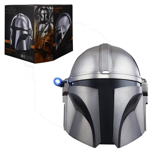 Star Wars The Black Series The Mandalorian Premium Electronic Helmet Prop Replica