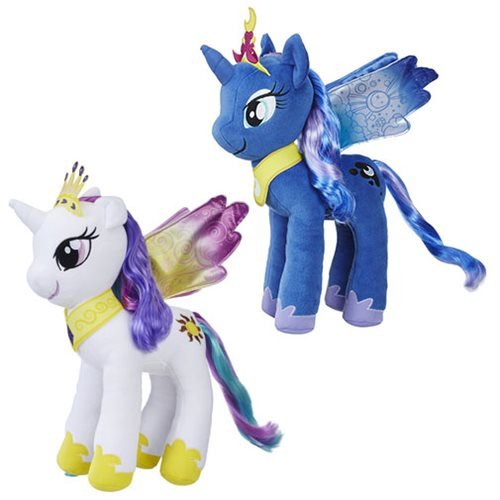 My Little Pony The Movie Princess Large Plush Wave 1 Set