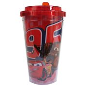 Cars Characters 16 oz. Flip-Straw Travel Cup