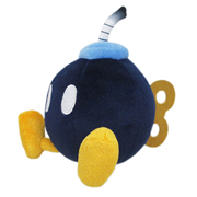 Super Mario All-Stars Bob Omb 6-Inch Plush